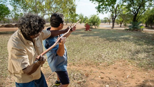 Learn about indigenous culture and customs at Top Didj Cultural Experience and Art Gallery, Katherine.