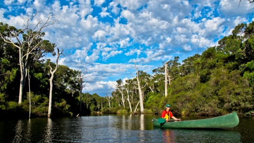 Canoe the Margaret River.