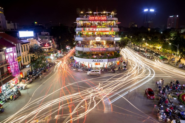Hanoi, Vietnam: There is order in the chaos.