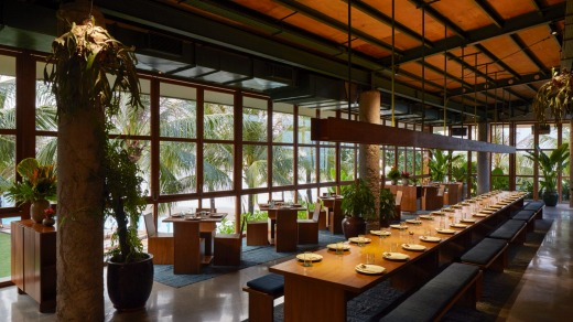 The Katamama Hotel's signature and quite wonderful Kaum restaurant.