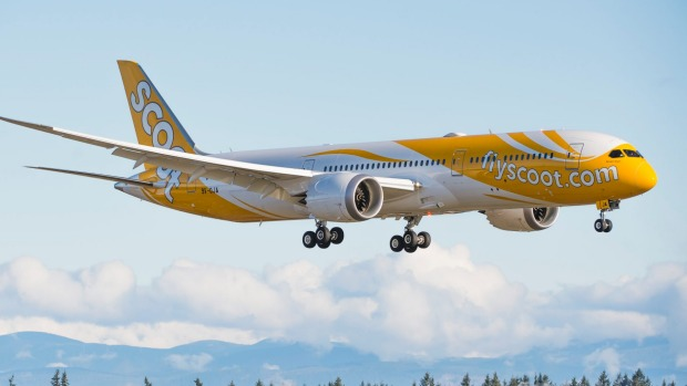 Low-cost airline Scoot is owned by Singapore Airlines.