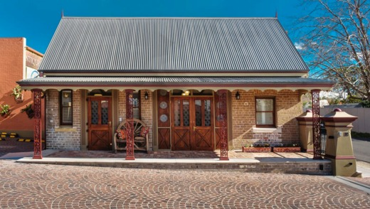 The Stables in Mittagong is a converted former 19th century butchery that once served as the horse and buggy stables for ...