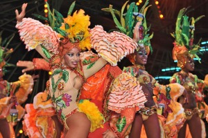 Dancers performing at the Tropicana in Havana.