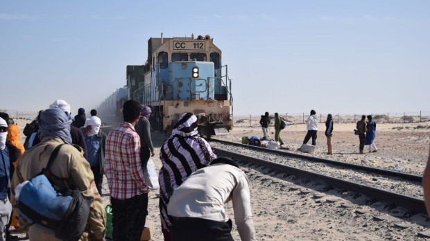 If there is any reason to come to Mauritania's second-largest city, it is to ride on the iron ore train.