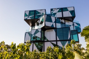 A modern winery experience: The d'Arenberg Cube in McLaren Vale.