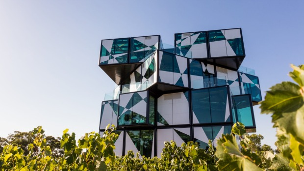 Out of the square: The d'Arenberg Cube in McLaren Vale.