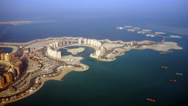 Doha, Qatar. Australians will now be able to enter Qatar, visa-free, for 30 days.
