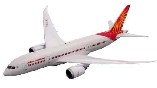 Air India's 787 Dreamliner.