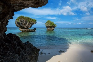"Beautiful Guam Guam is an island in Micronesia, but is a US territory. It is known as the place ""where America starts ..."