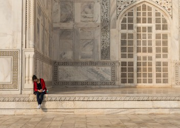 Its well worth while  arriving early to see the Taj Mahal glowing in soft morning light. You'll avoid the crowds too but ...
