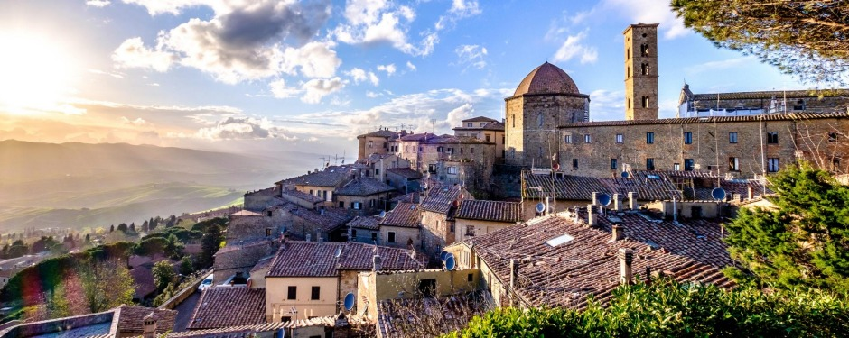 Italy's old town of Volterra dates to Etruscan times.