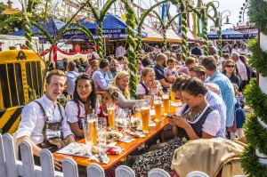 World's largest and most popular beer festival: Oktoberfest, Germany.