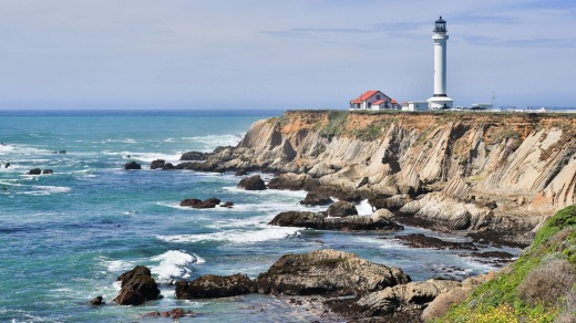 Point Arena Lighthouse, Mendocino County.