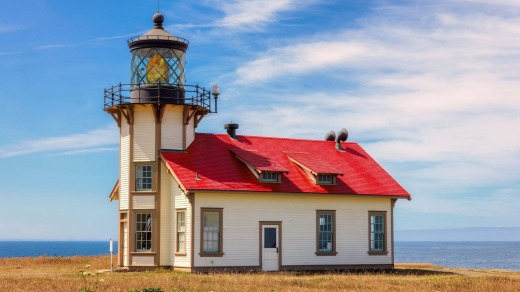 Point Cabrillo Lighthouse.