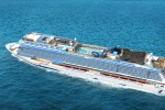 Biggest in the family: Norwegian Bliss will have the capacity to carry up to 4000 guests.