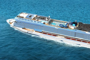 Norwegian Bliss features a two-deck go-kart race track.