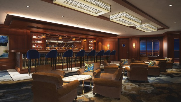 Norwegian Bliss will offer a number of drinking venues, including Malting Whiskey Bar.