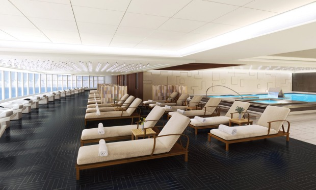 The Thermal Suite Spa on Norwegian Bliss.