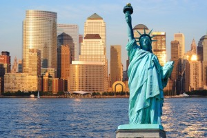 New York's infection rate is lower than England's.