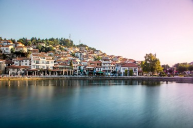 """Ohrid or also called """" Pearl of the Balkans """" nestled along the Lake of Ohrid is undoubtedly very picturesque place and ..."""