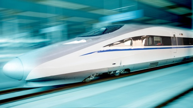 China is leading the way in high-speed train travel.