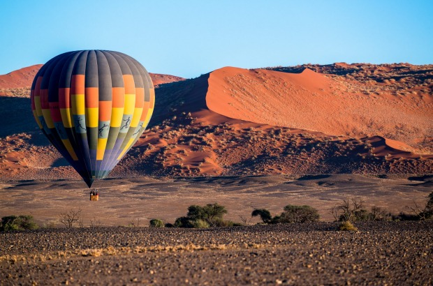 Taken early morning of Hot air balooners over the Sossusvlei, Namibia was an  experience of a life time , whilst on ...