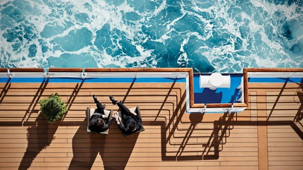 Relax on deck or join in the many activities on offer.