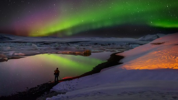 Chilly Iceland is a hot spot for travellers.