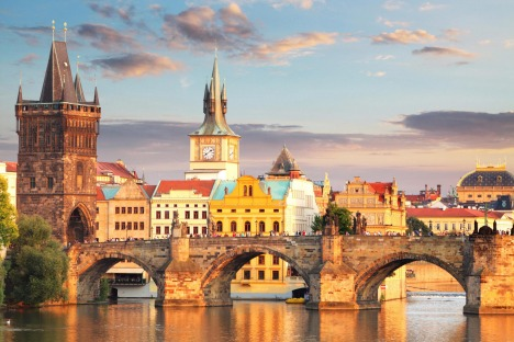 Prague - Charles bridge, Czech Republic Credit: Shutterstock Satsep2deals - Saturday Deals September 2 - Julietta Jameson