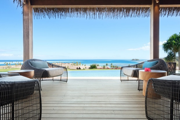 SIX SENSES FIJI, FIJI: On Fiji's Malolo Island, Six Senses' new resort comprises a boutique hotel together with stunning ...