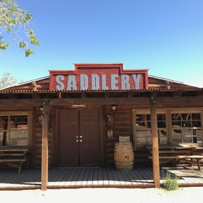 The 'saddlery' at Pioneertown.