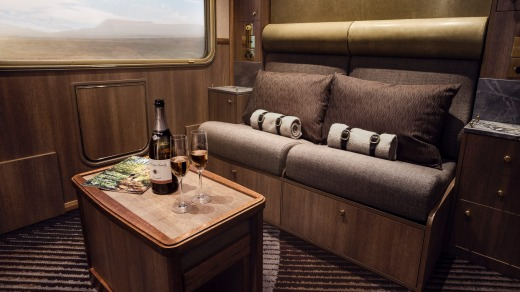Experience luxury on Great Southern Rail.
