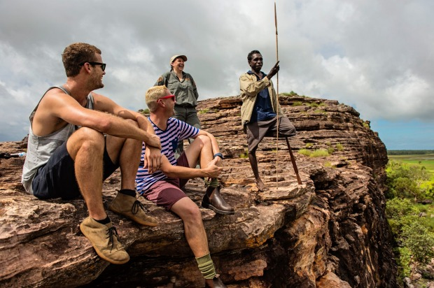 Ubirr, Northern Territory: At the lower levels, Ubirr is known for its rare black wallabies and rock art carved into ...