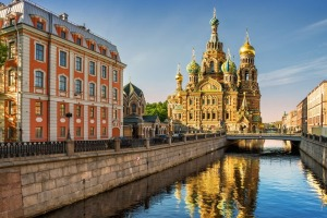 The Cathedral of Our Savior on Spilled Blood.