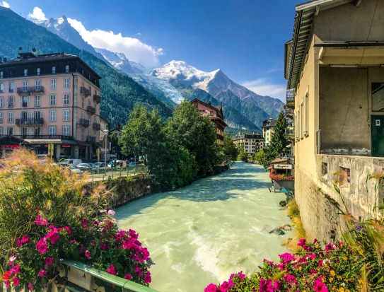 Wandering through Chamonix-Mont-Blanc in France, I passed over a bridge and could feel the icy cold air rising from the ...