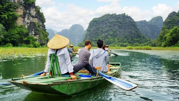 Our desire to sample local cultures and experiences, such as exploring Ngo Dong River in Vietnam, rather than just ...