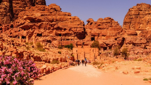 The city of Petra was lost for over 1000 years.