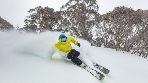 "Hotham is known as the ""powder capital"" of Australia."