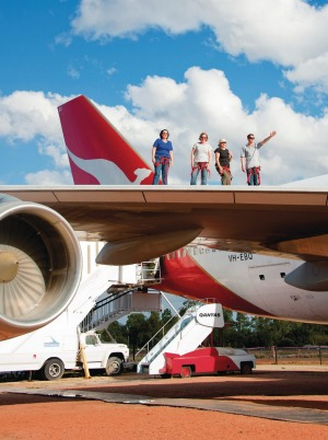 The Qantas Founders Outback Museum at Longreach.