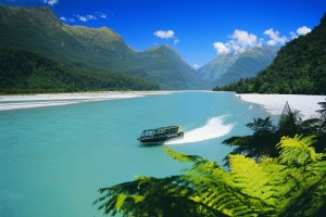 The Haast River boasts some breathtaking scenery.