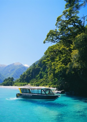 The Haast River area is part of a UNESCO World Heritage Site.
