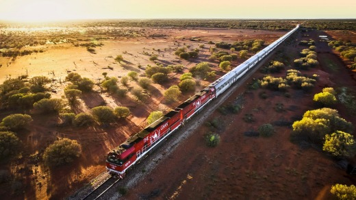 The Ghan –  not dividing the country but bringing it together.