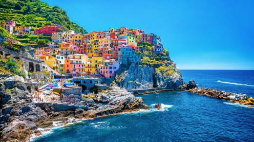 Italy has been done before, but that doesn't mean you shouldn't go: Cinque Terre, Italy.