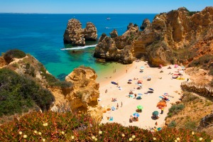 Praia do Camilo, Algarve, Portugal.