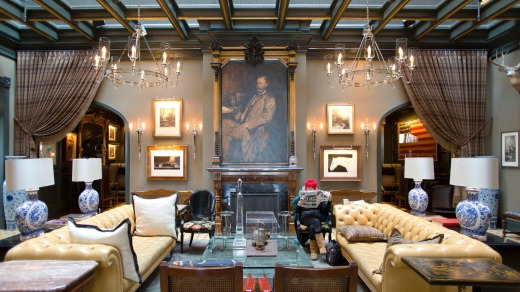 The five-star Hotel Jerome is Aspen's original hotel and is now at the top-end of the accommodation scale. There are ...