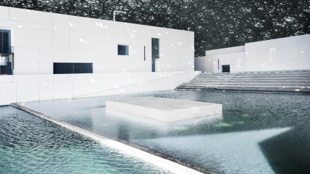 Jean Nouvel's design embodies the concept of a cultural oasis.