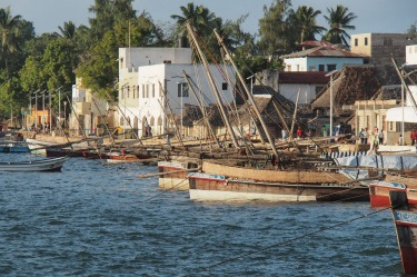 Lamu Island just off the northern coast of Kenya is a World Heritage site, the world's best surviving example of Swahili ...
