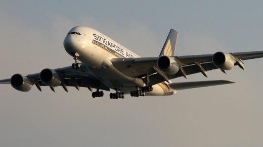 Singapore Airlines has five new Airbus A380 superjumbos on the way, adding to its existing 14.