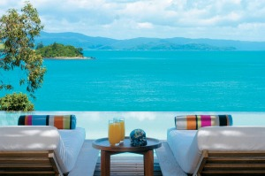 Start the day with freshly squeezed orange juice at Qualia, Hamilton Island.
