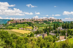Beautiful view of the old town of Orvieto, Umbria, Italy. Photo: Canadastock/Shutterstock